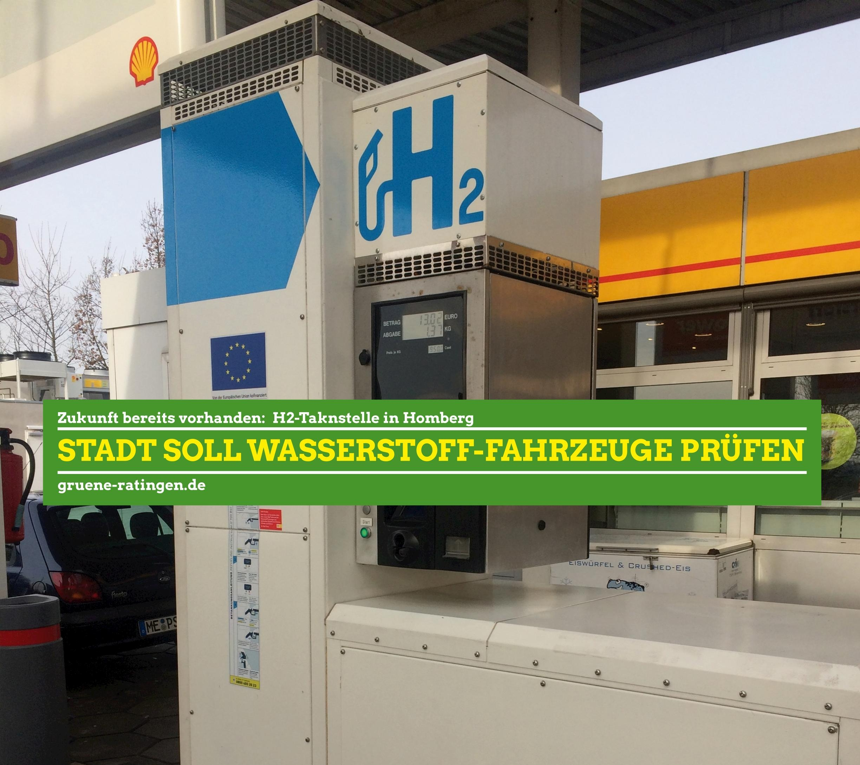 Grüne: Wasserstofffahrzeuge testen!