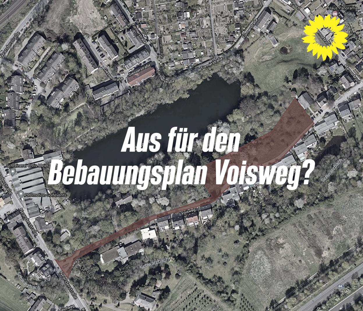 Aus für den Bebauungsplan Voisweg?