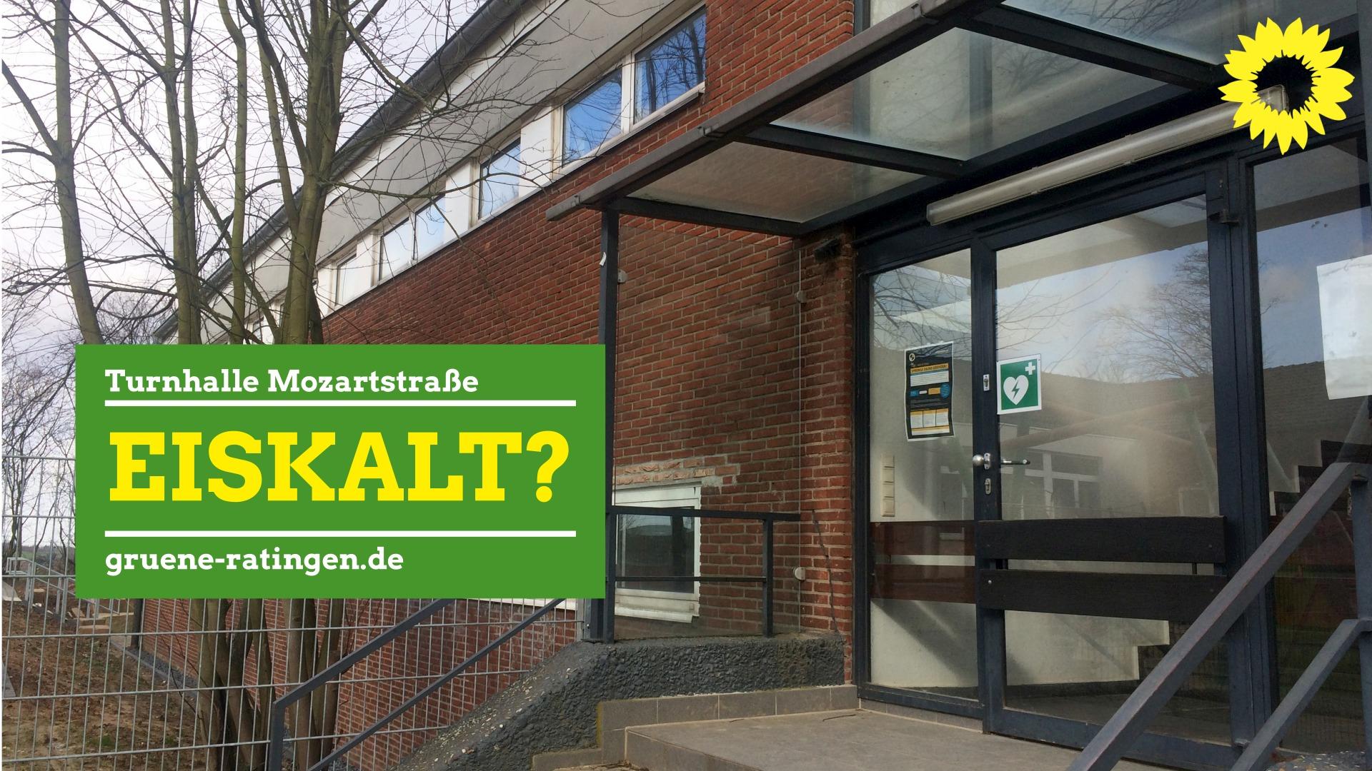 Grüne fordern neue Heizung in Turnhalle Mozartstraße