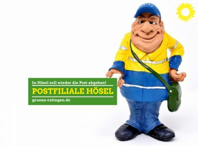 Postfiliale: In Ratingen-Hösel soll wieder die Post abgehen!