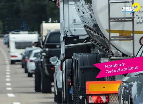 Homberg: Geduld am Ende